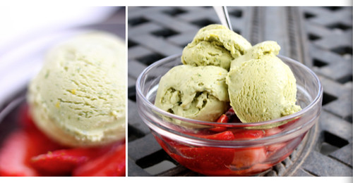 Lemon Basil Ice Cream - The Perfect Scoop