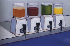 Wayne Thiebaud, Drink syrups, 1961