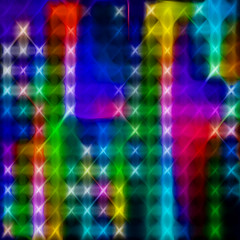 Strange Angels or let x equal x (x = x) (Marco Braun) Tags: light abstract color art grid licht kunst x lumiere colourful grille coloured farbig bunt mucho gitter abstrakt abstrait multichrome