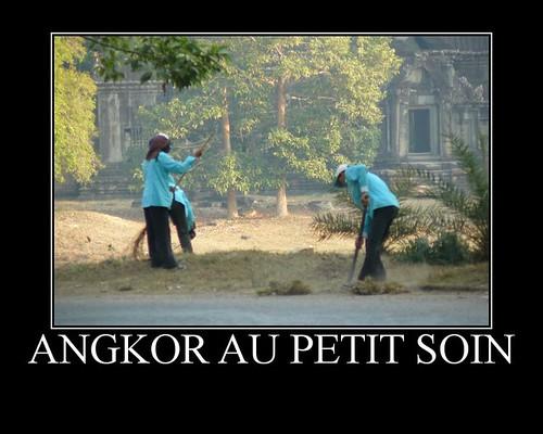 Angkor au petit soin