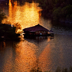 Sunday cottage (Katarina 2353) Tags: old city light sunset orange sun black reflection history film nature sunrise river landscape photography nikon europe flickr shadows darkness image roman serbia silhouettes paisaje romantic belgrade paysage priroda katarina beograd sava srbija tjkp stefanovic pejza katarinastefanovic katarina2353