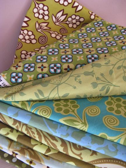 ginger blossom & matching fabrics