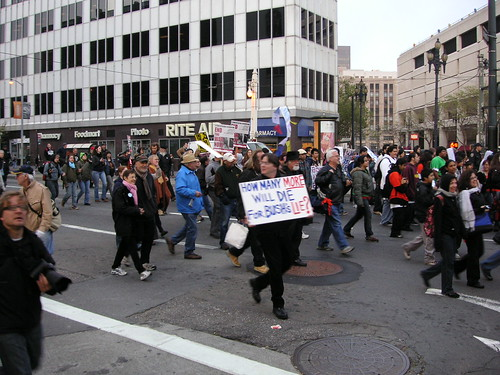 SF Antiwar parade 1