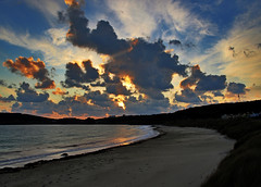 Dawn Over Braye Beach - Alderney