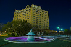 The Fabulous Baker Hotel (Noel Kerns) Tags: abandoned night hotel texas baker wells haunted mineral ghosts