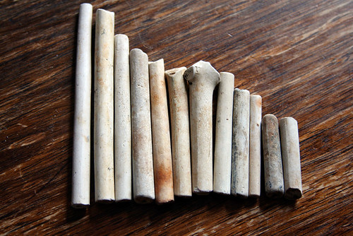Clay Pipe Stems