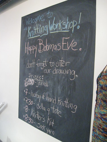 Welcome to Knitting Workshop!