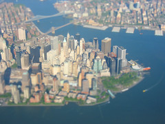 Mini-hattan (erikrasmussen) Tags: nyc newyorkcity newyork miniature model manhattan fake mini replica bigapple tiltshift