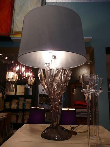 Lamp at digs