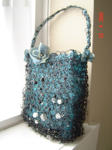 constellation evening purse 'thunder'