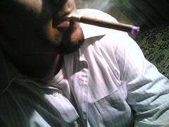 half me (abeer.naseer) Tags: cigar half blunt