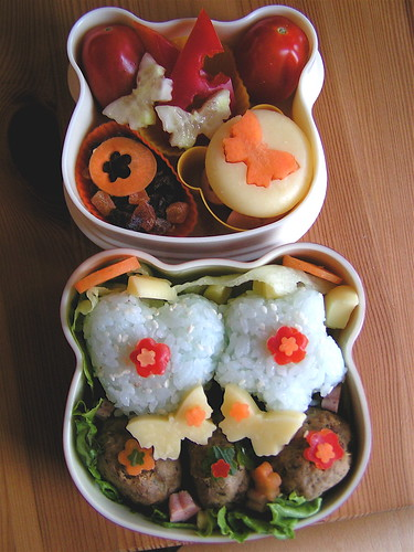 Butterfly Bento 13/5/08