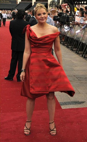 Kim Catral - SATC world premier London