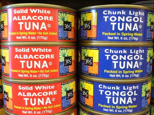 Solid White Tuna v.s. Chunk Light Tuna