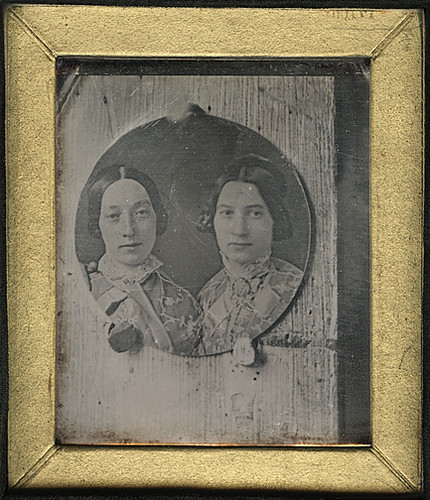 Daguerreotype Copy of Round Daguerreotype