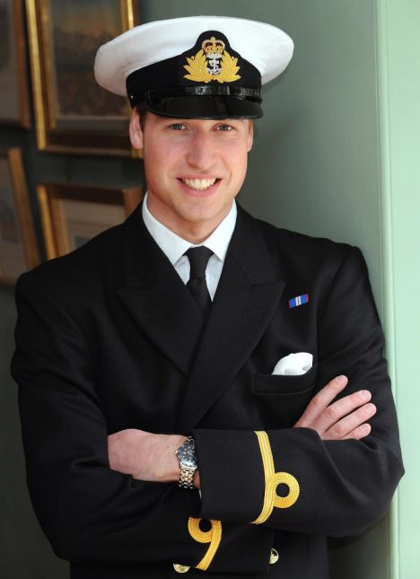 APTOPIX BRITAIN  PRINCE WILLIAM
