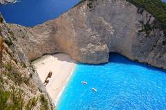 Navagio, Zakynthos (RobW_) Tags: beach may saturday greece shipwreck 2008 wal zakynthos navagio may2008 31may2008