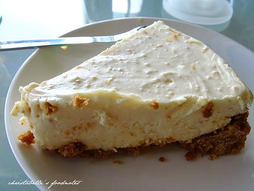 有河book阿餅的檸檬雪藏乳酪蛋糕