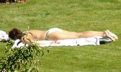 sunbathing (bluegoose0fox) Tags: bikini sunbathing