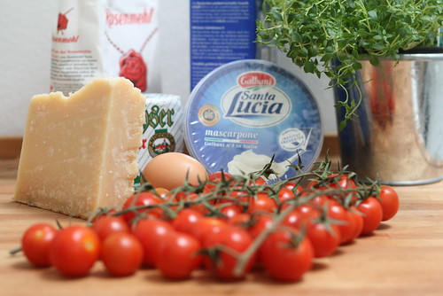 Ingrédients Tomaten Quiche