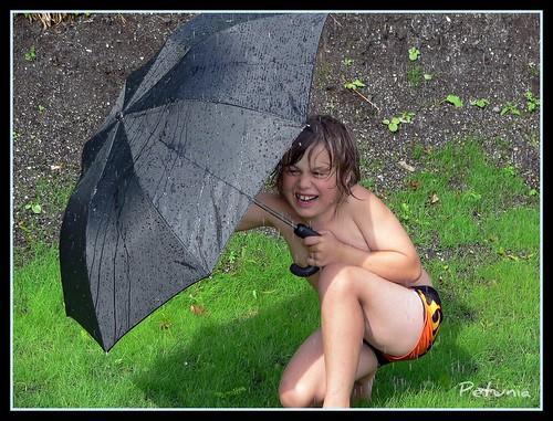 Det regner i Bergen