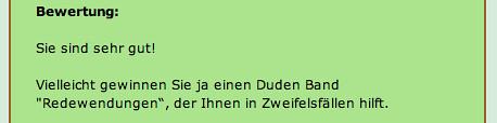 Quiz Redensarten