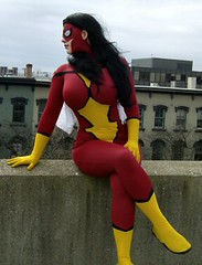 Spider-Woman (BelleChere) Tags: comics costume comic cosplay marvel avengers bellechere spiderwoman