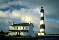 Bodie Island Light- Clearing Storm (icecubephoto - trying to catch up) Tags: lighthouse island carolina bodie bodieisland bodieislandlight banksnorth lighthouseouter
