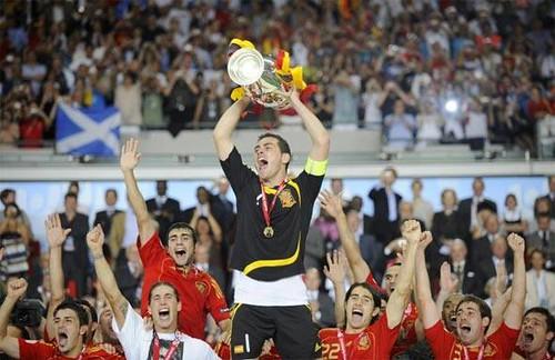 Casillas en la Eurocopa