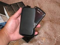 nokia e71 leather case