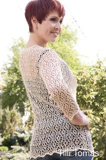 Ravelry: Laura Lace Cardigan pattern by Kristin Omdahl