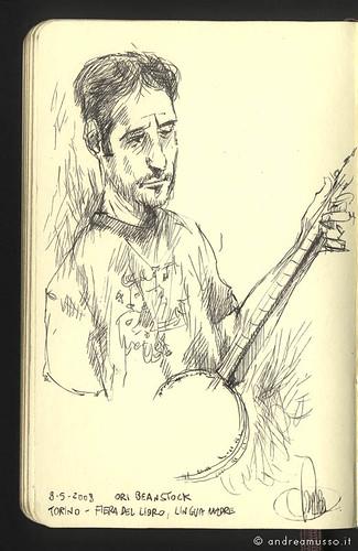 Illustration live of Ori Beanstock of