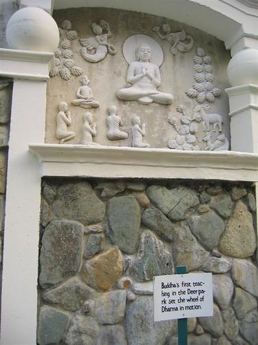 8. Buddha's first teaching in the Deer park