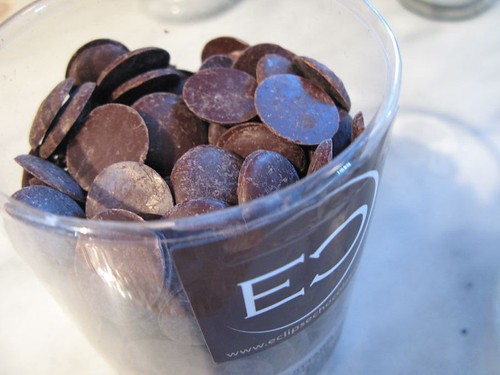 Guittard Chocolate Pastilles at Eclipse
