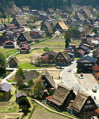 Ogimachi, Shirakawa-go (SBA73) Tags: old panorama mountains japan japanese village view traditional unesco roofs vista nippon mundial vis nihon mirador jap tejados shirakawago montaas worldheritage hida japane tradicional japn patrimonio poble patrimoni muntanyes    shiroyama ogimachi teulades gasshozukuri aplusphoto 100commentgroup