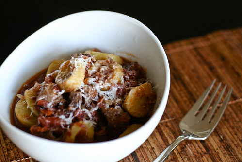 thick and hearty lamb ragu