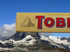 Toblerone (gva_pix) Tags: summer food mountain snow alps rock montagne logo switzerland europe skiing view suisse chocolate swiss climbing zermatt matterhorn alpen incredible brand wallis toblerone chocolat ete kraft valais cervin supershot abigfave anawesomeshot aplusphoto