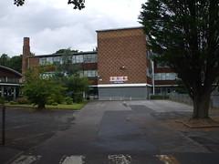 West Derby comprehensive school Quarry rd Liverpool. (davidsmail101) Tags: road school west liverpool drive mr wing queens fraser derby quarry comprehensive