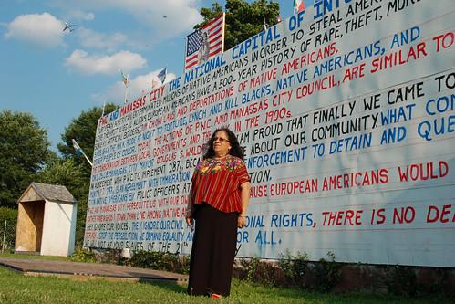 Teresita Jacinto, Mexicanos Sin Fronteras, Manassas, Virginia