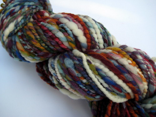 waves become wings handspun yarn