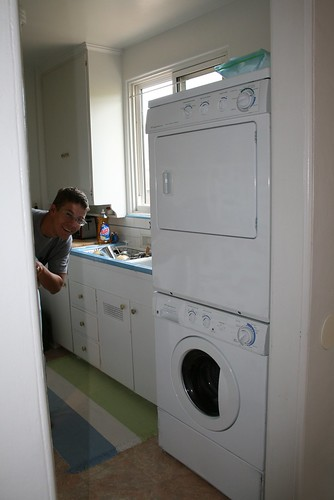 Our Kitchen w/ Washer & Dryer