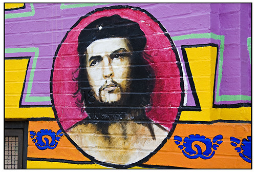 Che Guevara - Detail at Casa Aztlan Community Center