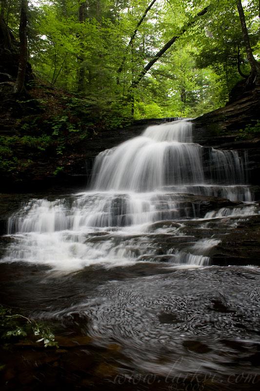 Onondaga Falls, Rickett's Glen State Park, Pennsylvania, June 2008