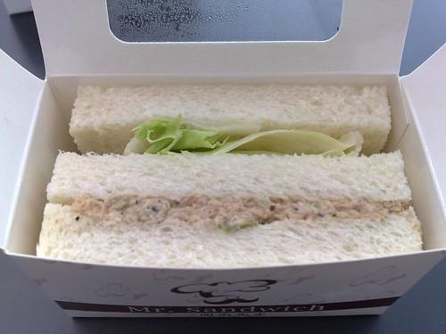 鮪魚三文治