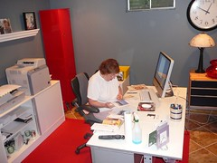 mom at work in her office 2 (alist) Tags: family alist robison alicerobison 66214 ajrobison