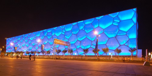 Watercube por Jonas in China.
