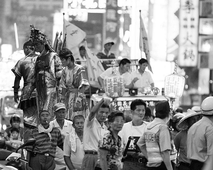 2008年 桃園中元祭 穎川高蹺陣