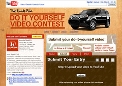 แคมเปญ Honda Pilot DIY Video Contest