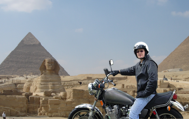 sam in egypt