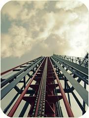 stairway to heaven (kevkev44) Tags: ride rollercoaster coaster buschgardens buschgardenstampa sheikra bushgardens coater buschgardensafrica lifthill